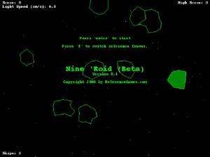 relativistic asteroids